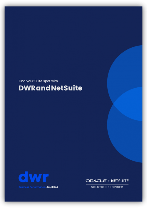 Suite spot DWR and NetSuite