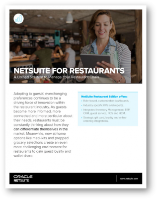 NetSuite for Restaurants