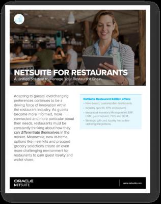 NetSuite for Restaurants
